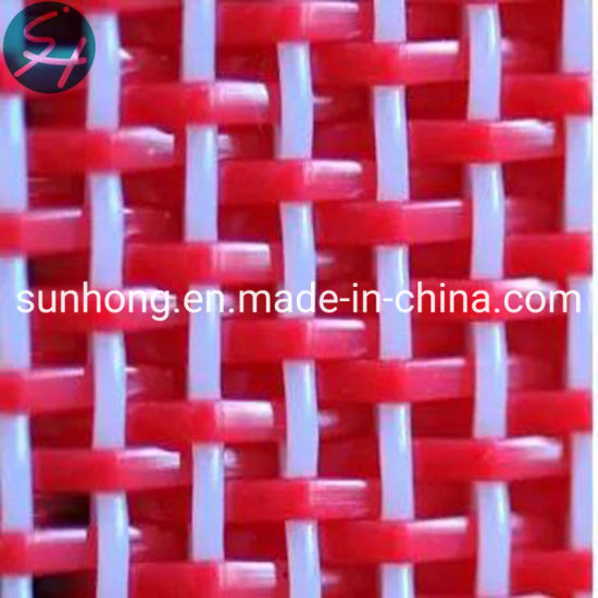 Polyester Flat Yarn Woven Dryer Fabric for Paper Making Conveyor Belt