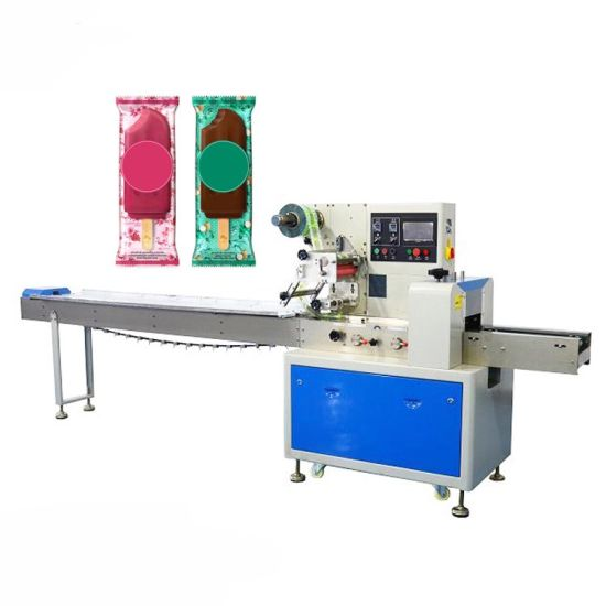China Manufacturing Level Chocolate Packaging Machine Pillow Food Packaging Machine