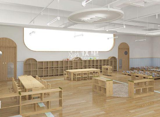 Modern Preschool Kindergarten Design School Classroom Wooden Furniture for Sale