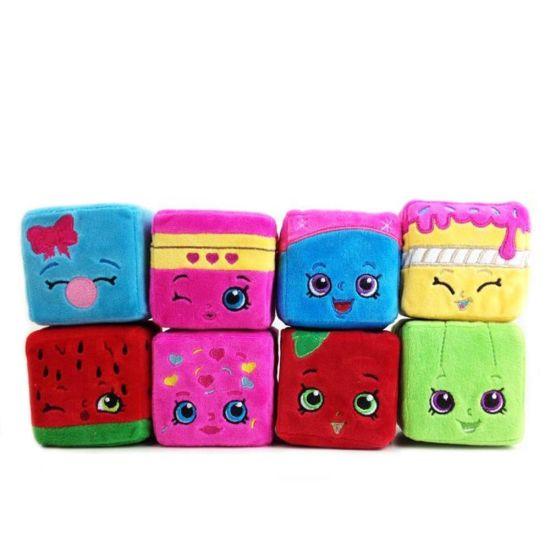 Shopkins Stuffed Plush Scented Cuddle Cube Set