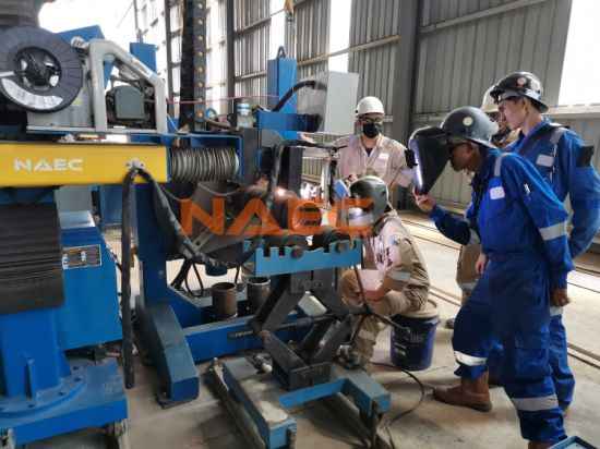 Automatic Welding Machine for Pipe Spool Prefabrication in TIG/MIG/Saw Process