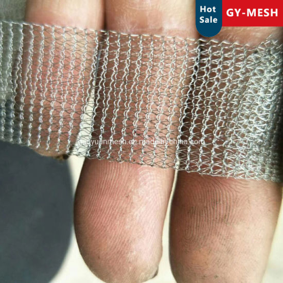 0.2mm-0.28mm Stainless Steel 304 Knitted Wire Mesh