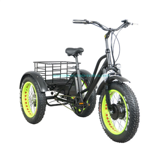 Wholesale 20 Inch Fat Tire Electric Tricycle pictures & photos