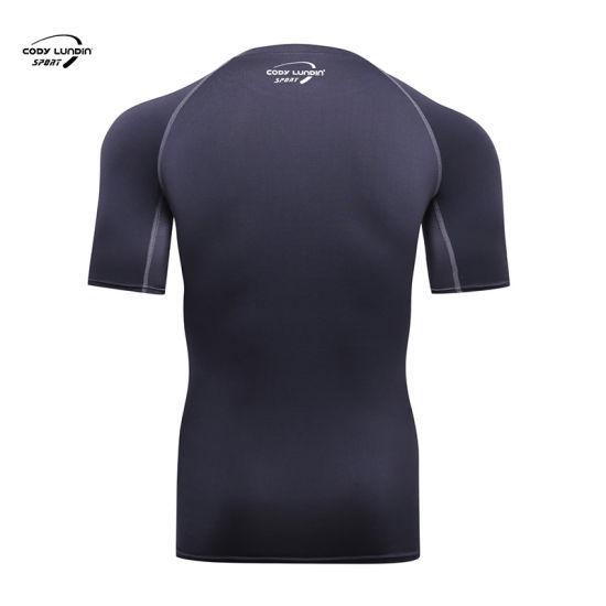 Cody Lundin Hotsale Summer Custom Logo Short Sleeve Fitness Sports Wear Men T Shirts