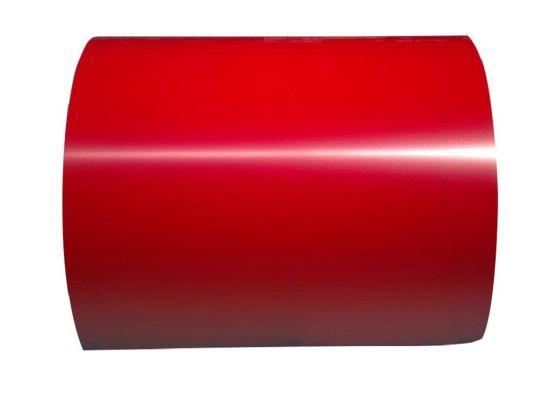 Dx51d Z100 1250mm Width Color Ral 9016 Zinc 80G/M2 Prepainted Galvanized Steel Coil PPGI