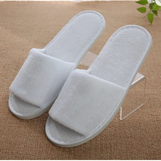 ab61c4764c4a08 Top Quality Disposable Men Bathroom Standard Size White Hotel Towel  Slippers Shoes