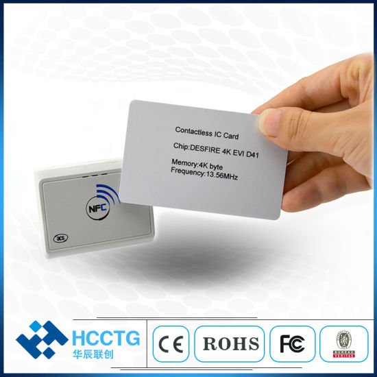 Ccid Android/Ios/Windows/Linux Bluetooth Contactless NFC Reader Writer  (ACR1311U-N2)