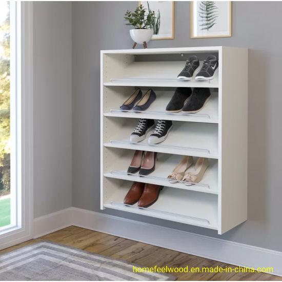 Wall Mounted Shoe Storage.China 5 Layer Wall Mounted Shoe Storage Rack Shelf Hf
