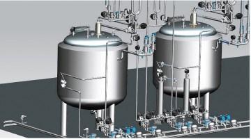 China Industrial Vessel Reactor Liquid Preparation System