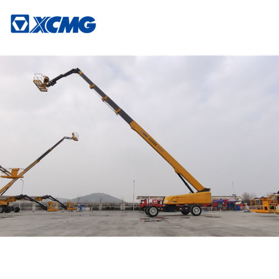 XCMG Official 58m Lift Telescopic Aerial Boom Platform Xgs58