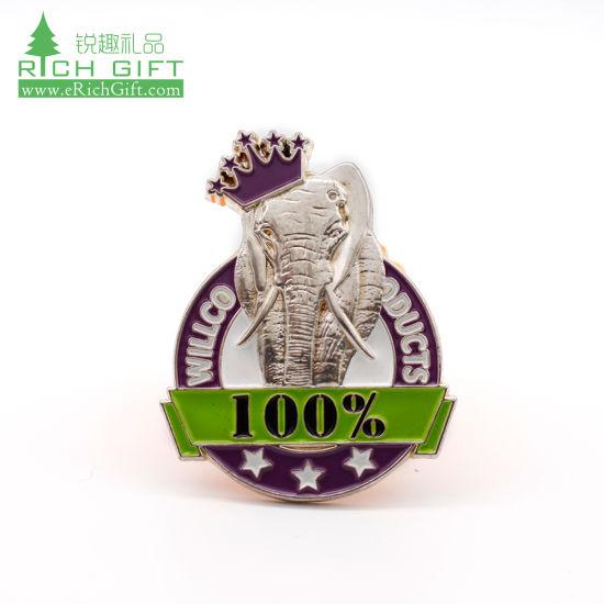 Football Lapel Pins for Football Team Trading Pins Crown Awards Football Pins Gold