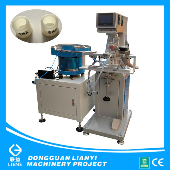 One Color Sealed Cup Pad Printing Machine for Small Bottles