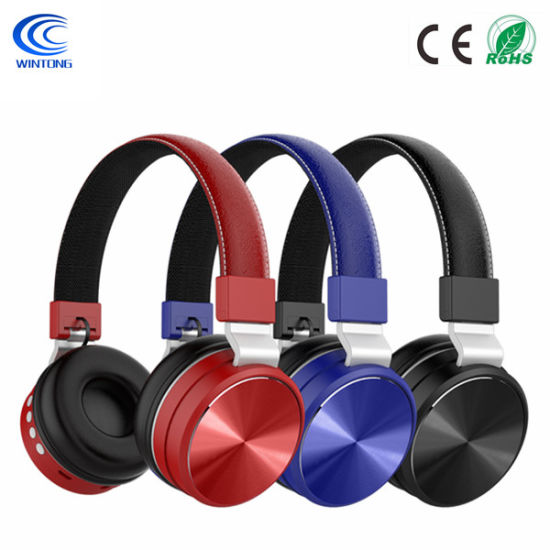 China Foldable Bluetooth Headphones Over Ear Hi Fi Stereo Wireless Headset With Soft Memory Protein Earmuffs For Pc Cell Phones Tv China Wireless Headset And Stereo Headset Price