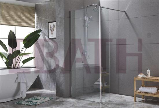 Glass Bathroom Shower Enclosure: Walk in Shower Enclosure Ssc-18001L
