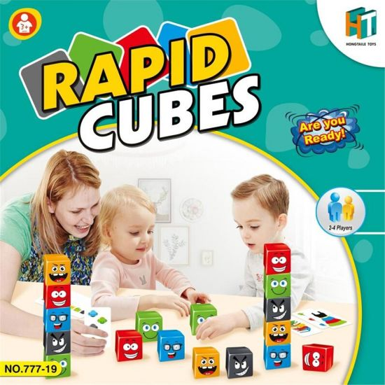 Funny Educational Toys Game Learning Rapid Cubes Plastic Toys for Kids H9085013