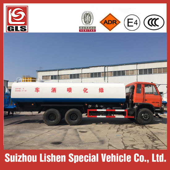 Heavy Duty 6X4 20000L Water Transport Tank Truck Water Sprinkler Tanker Truck