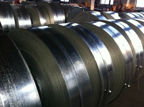 Cold Rolled Steel Strip China Baling Band Steel Bundles