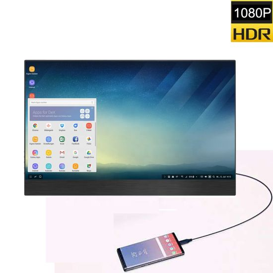 15 6 Utral-Thin Touchscreen Portable Monitor for Laptop PS4 PS3 Gaming  Monitor with Thunderbolt 3 /USB-C