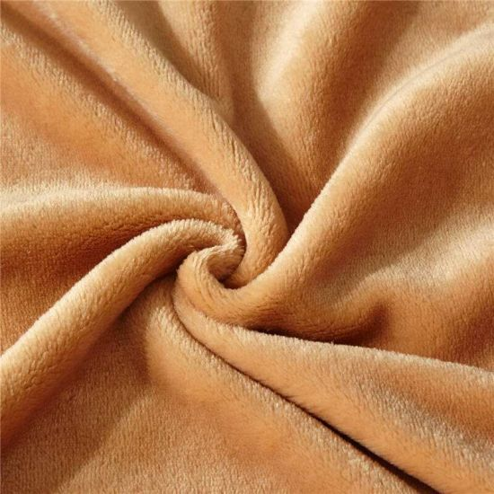 Soft 100% Polyester Solid Color Microfiber Fleece Baby Blanket Manufacturer