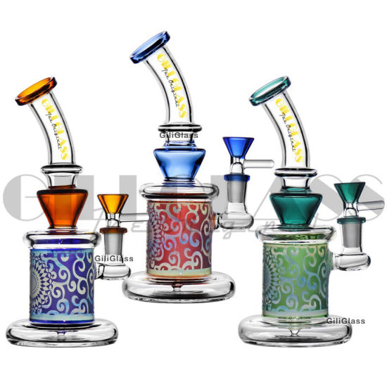 Giliglass Water Pipe Rig DAB Rig Pipe Hookah Smoking Pipe Glass Smoking Pipe Dabbing