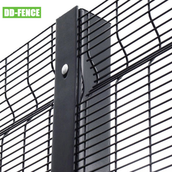 ISO 9001 Certified High Security 3D Panel Anti Climb 358 Fence for Industrial Commercial Residential
