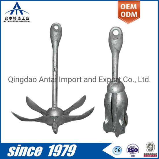 Monthly Deals Customized Marine Hardware Folding Anchor Casting for Boat