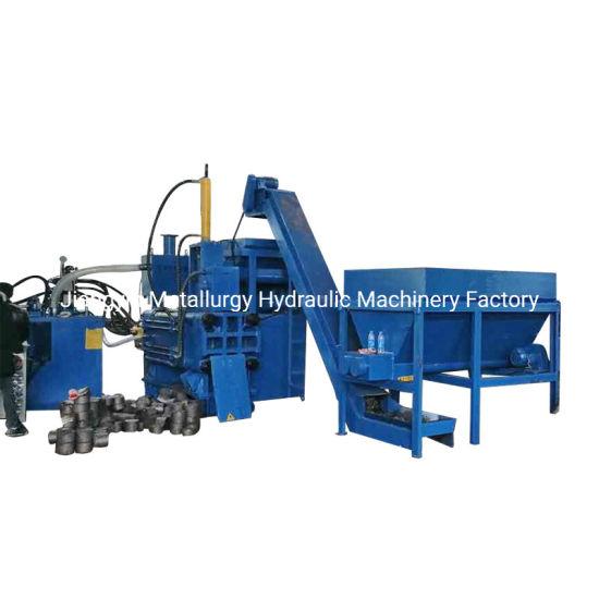 Y83W-500 Horizontal Scrap Steel Chips Briquetting Machine Press (CE)