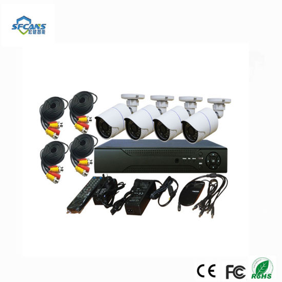 4CH Home Security IP Camera Alarm & Security Wire Kits Systems pictures & photos