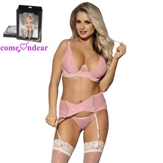 New Style Four Size Transparent Sexy Fancy Bra Panty Set - China Sexy Fancy  Bra Panty Set 5f000cde6