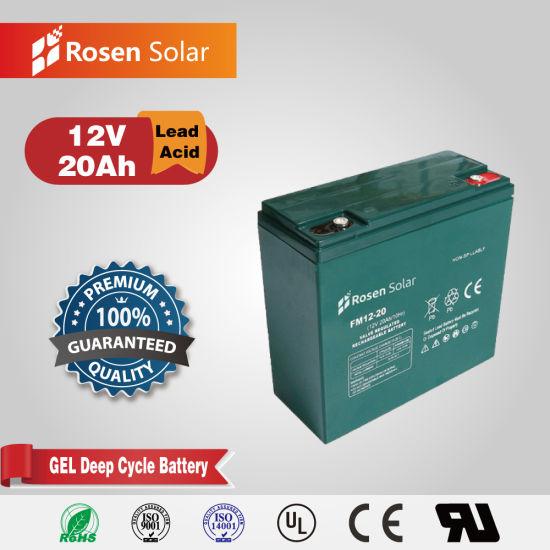 Rosen Deep Cycle Maintenance Free 12V 20ah Gel Battery
