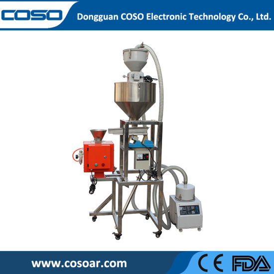 Customized Auto Feeding Metal Separator with Vibrating Screen for Plastic Recycle