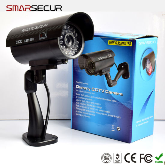 Smarsecur CCTV Camera Fake Bullet Outdoor CCTV Camera Surveillance Camera pictures & photos