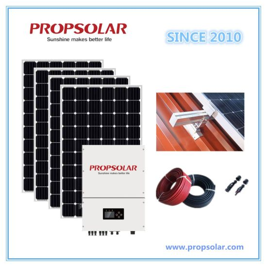 Best Performance with Best Price 20kw Solar Panel System