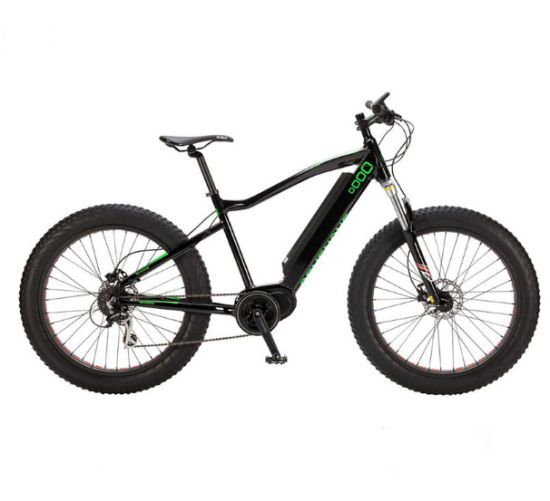Fat Tire Electric Bike Snow Beach Cruiser Bafang MID Electric Bicycle