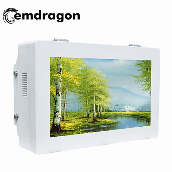 Wall Mount Cheap Networking Digital Signage Player 32 Inch Outdoor Wall Mount Advertising Machine Battery Charger Screen Network Monitor LED Digital Signage