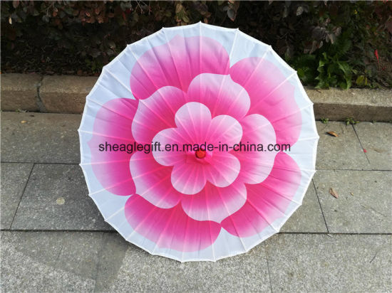 Japanese Traditional Silk Cloth Umbrella for Wedding Festival Gift pictures & photos