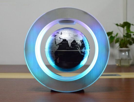 2019 Christmas Gift Crafts and Home Decor 6 Inch Magnetic Levitation Floating and Rotating World Globe pictures & photos