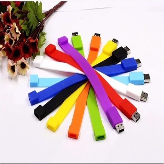 Supply Silicone Atpness Bend USB Stick, Pendrive, Memory Drive, USB Disk, USB Strip, Bracelet USB Driver