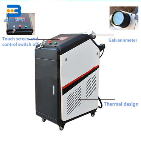 Good Price Metal Oil Paint Rust Remover Laser Cleaning Equipment pictures & photos