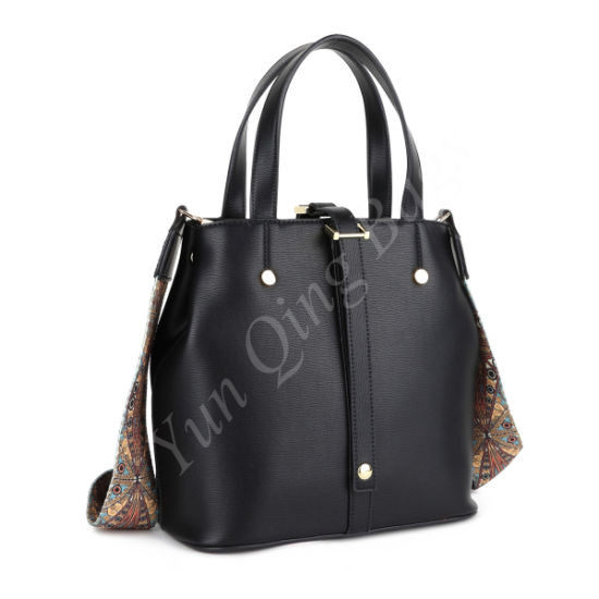 35855dfa2d2f China Fashion High Quality Lady Handbag with Ethnic Strap - China ...