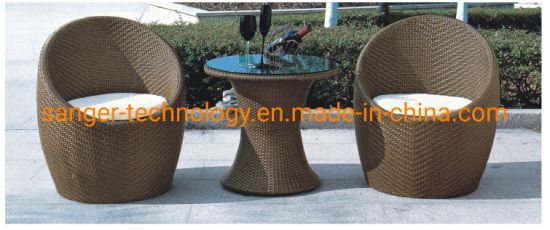 Stupendous Best Choice Produce 3 Piece Patio Outdoor Furniture Sets Wicker Chairs And Glass Table For Sale Andrewgaddart Wooden Chair Designs For Living Room Andrewgaddartcom