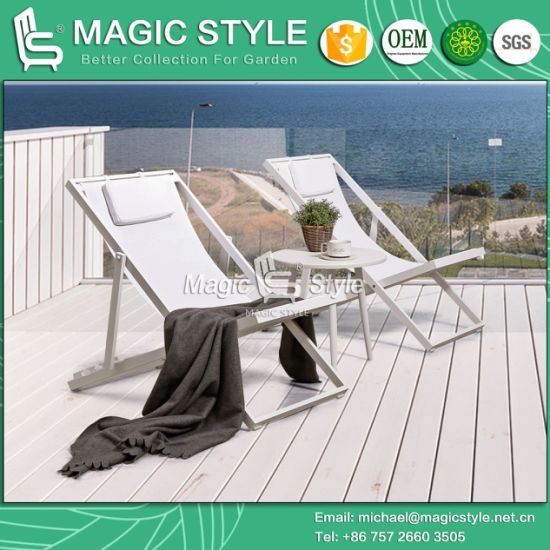 Sling Chair Garden Textile Lounge