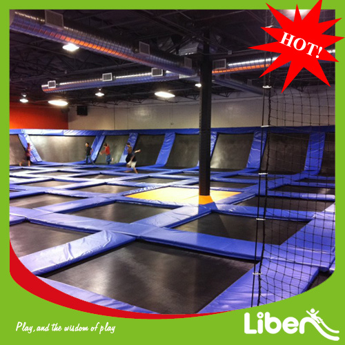 2014 Liben Top Sale Commercial Made in China Indoor Trampoline Urban pictures & photos