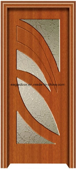 American Latest Design PVC Interior Wooden Doors (EI-P177) pictures & photos
