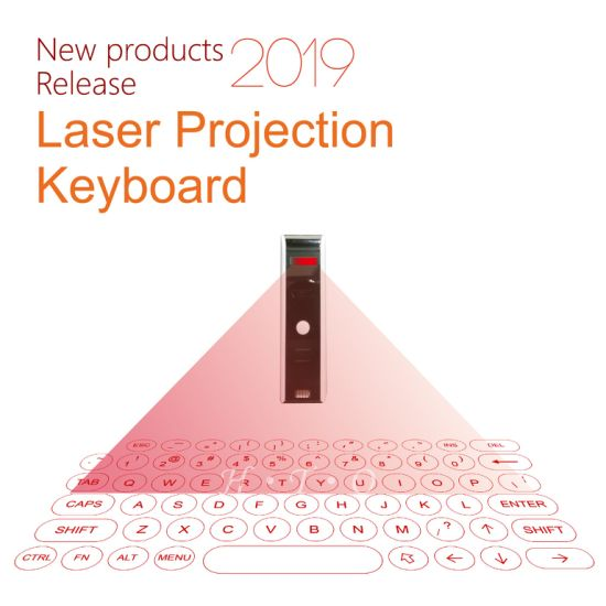 2019 Laser Projection Keyboard Wireless Bluetooth Connection