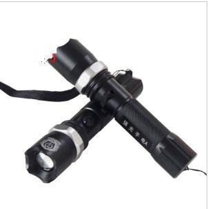 Super Bright Multifunction Police Flashlight with Strobe Light Stun Gun