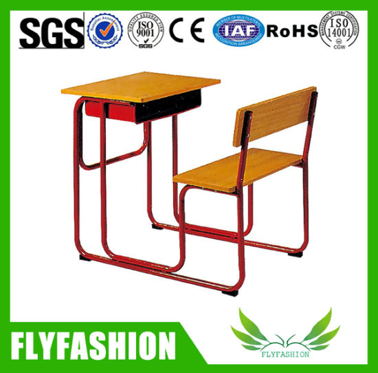 Combo Wooden Student Desk Set For Classroom (SF 90S)