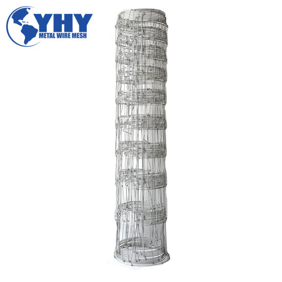 Hot Dipped Galvanized Cattle/Grassland Fence with Hinge Joint Knoct