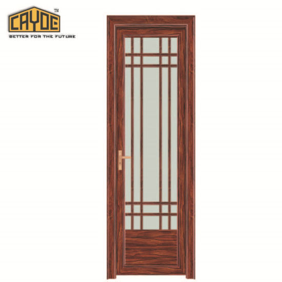 China Aluminum Doors And Windows Frosted Glass Inserts Bathroom