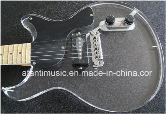 Afanti Music / Acrylic Electric Guitar (AAG-027) pictures & photos